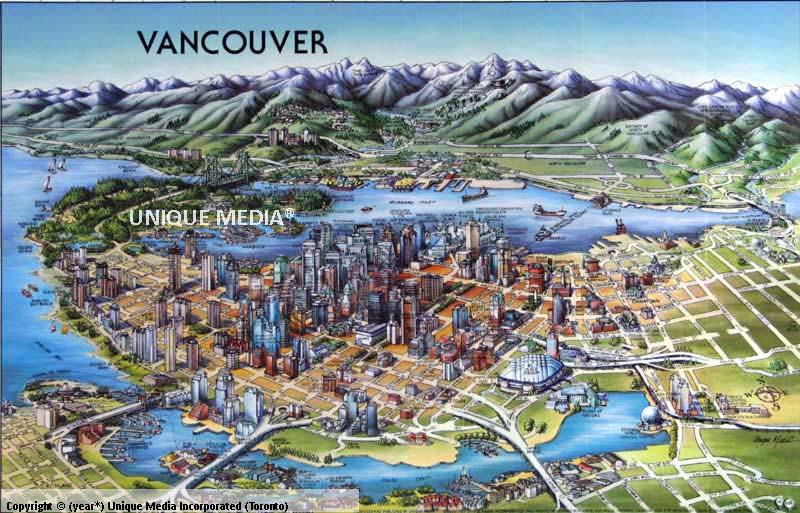 Vancouver Laminated Unique Media Vancouver Laminated