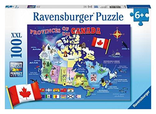 Canada Map Puzzle Pieces Canada Map Puzzle Pieces Shop - Canada map puzzles