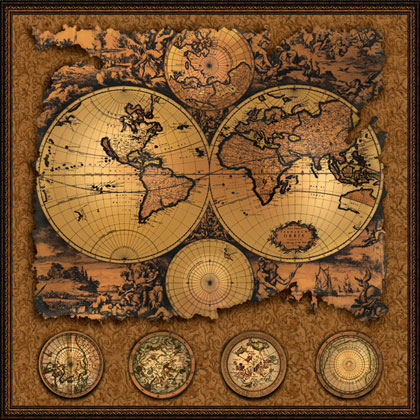 Cartographia 3 Antique map 20\