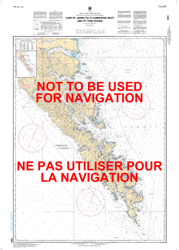 3853 Nautical Chart 1:150,000 - Shop Online at WorldOfMaps com
