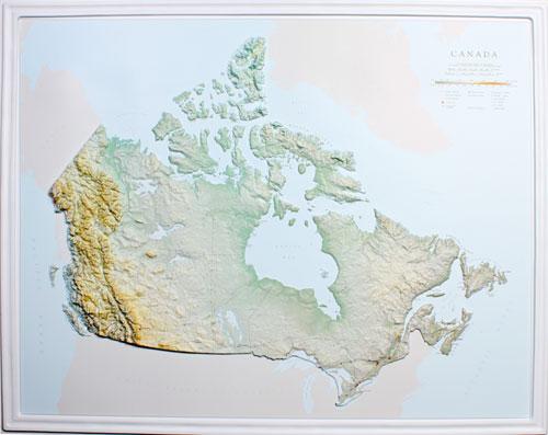 Canada raised relief map 30x24 canada raised relief map 30x24 canada raised relief map 30x24 gumiabroncs Images