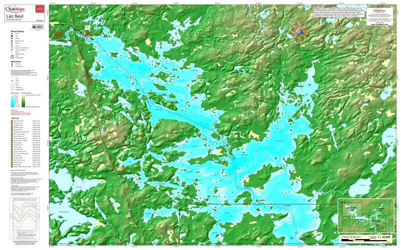 Seul northwest 469 nw ontario lac seul northwest 469 for Lac seul fishing