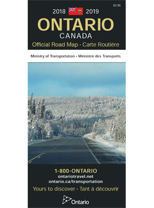 Ontario Official Road Map 2018 - 2019 Ed - Ontario Official ...