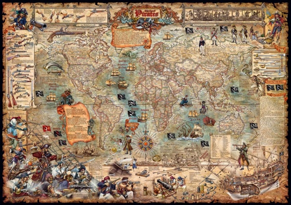 World Map Old Style.Age Of Pirates World Map Old Style Age Of Pirates Modern Map