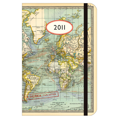 2011 Weekly Planner - World Map. ISBN: AG2011MAPWRD. [ Go Back ] $12.95