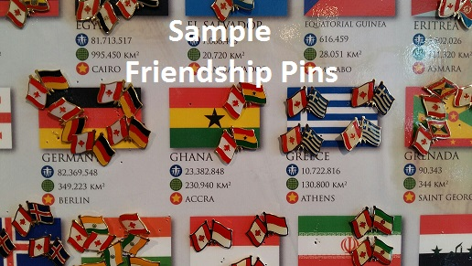 Canada Flag U0026 Iran Friendship Pin